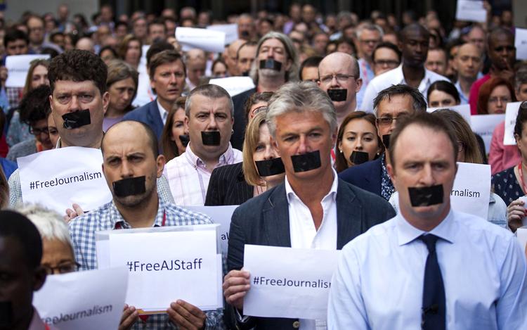 دستگاه قضایی جمهوری اسلامی ابزاری در خدمت سرکوب علیه روزنامهنگاران