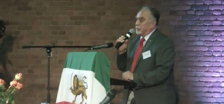 سخنرانی دکتر بهرام آبار از حزب سکولار دموکرات در بوخوم 2014
