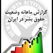گزارش ماهانه – نگاهی اجمالی به وضعیت حقوق بشر ایران در اردیبهشت ۹۴