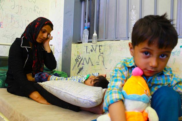 کودکان زندانی! درنظام اسلامی ایران، از حامد فرمند: