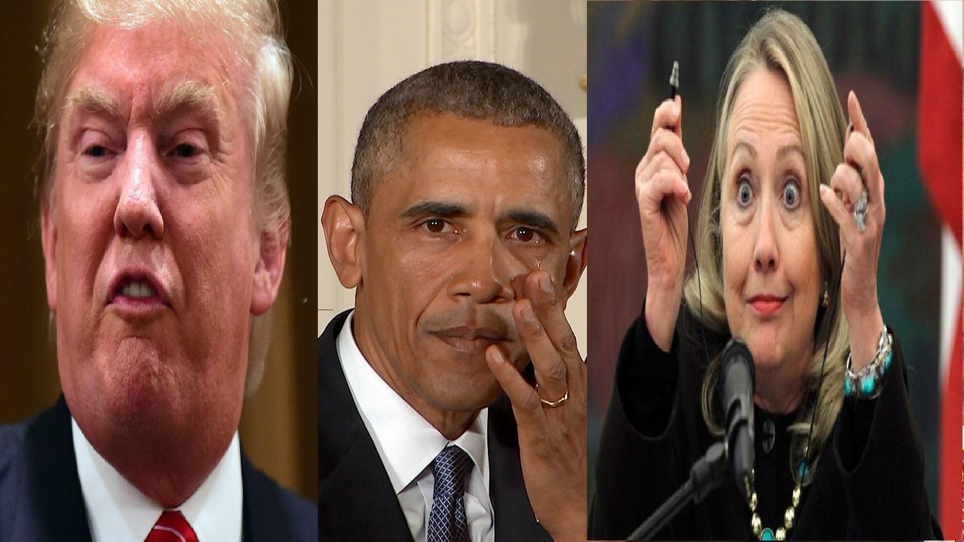 مقایسه سیاست خارجی  هیلاری کلینتون، باراک اوباما، دونالد ترامپ