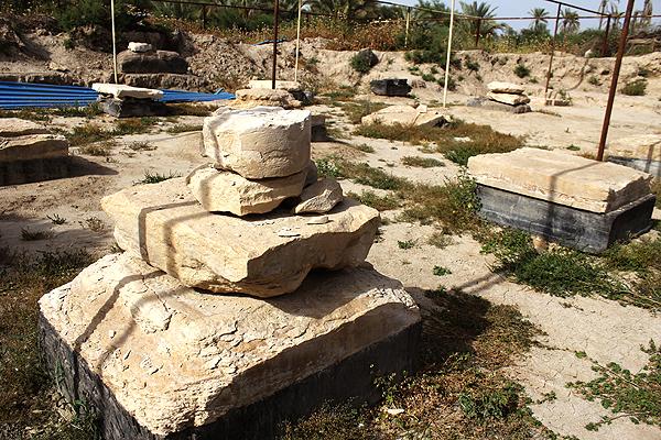 کاخ 2500 ساله داریوش هخامنشی در خطر نابودی است