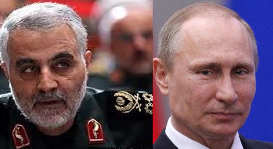 هشدار شدیدالحن غرب به پوتین و سلیمانی