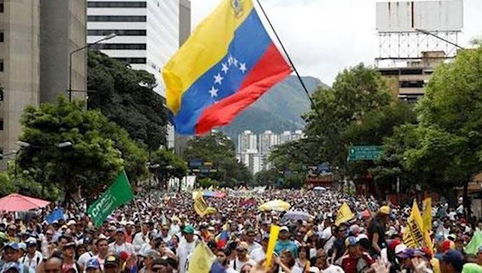 افزایش وحشت ونگرانی رژیم اشغالگر ایران بعد ازکنفرانس ورشو با تحولات ونزوئلا