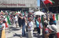 قطعنامه گردهم آئی و تظاهرات برای آزادی ایران درکلن 29 ژوئن 2019