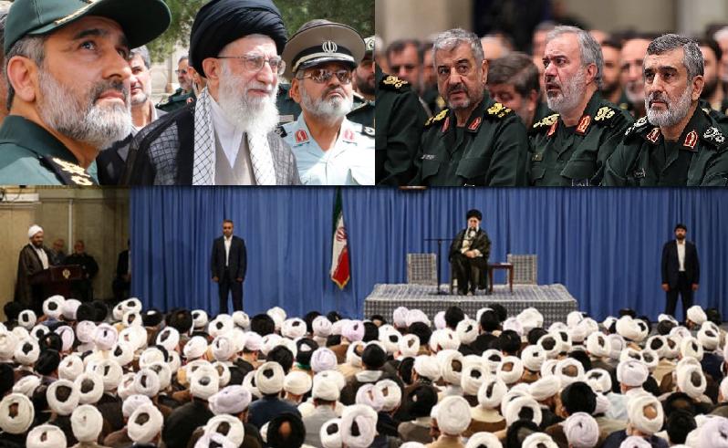 جمهوری اسلامی، یک رژیم نابکار آخوندی، دشمن مردم ایران