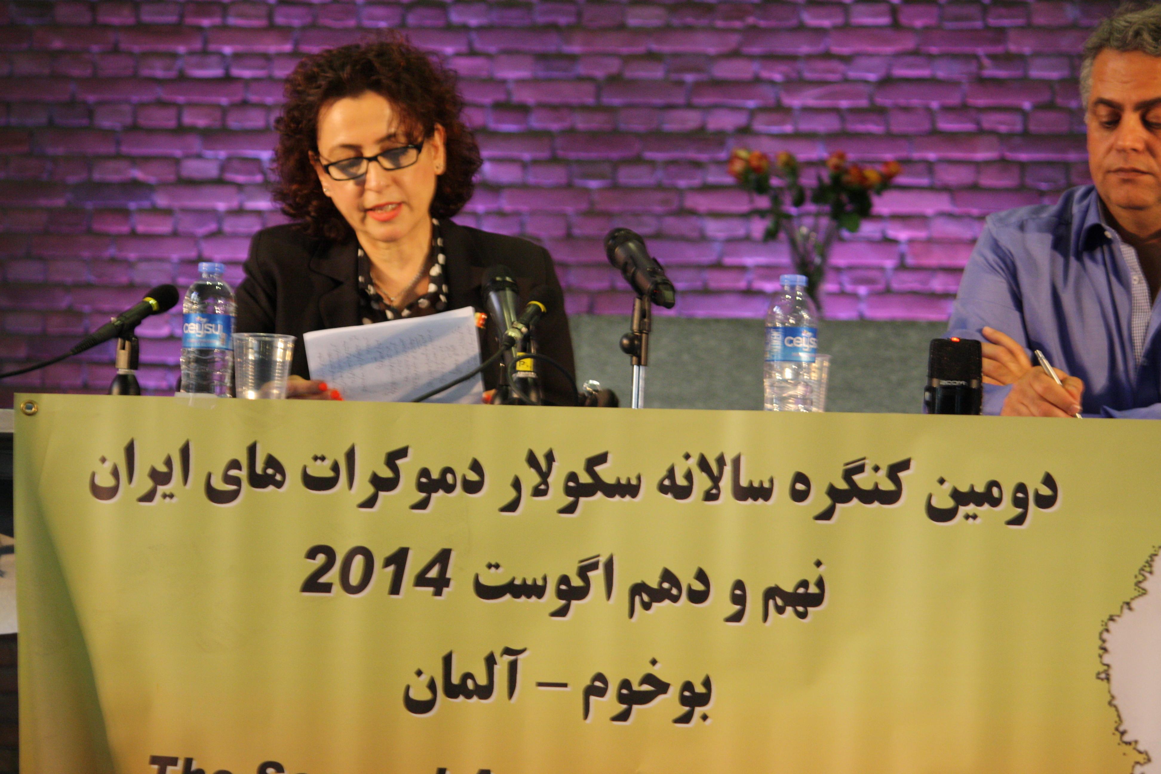 حرف و هدف، هنوز همان حرف و هدفِ جنبش مشروطه است! الاهه بقراط :