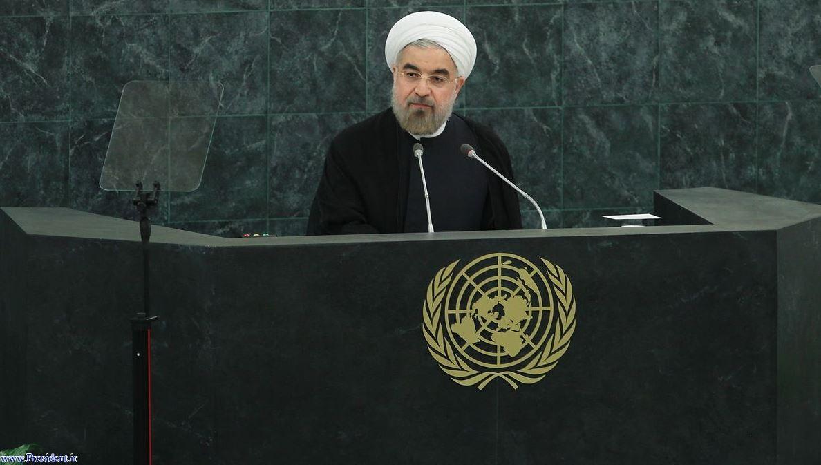 حسن روحانی در سازمان ملل، از بهرام آبار:
