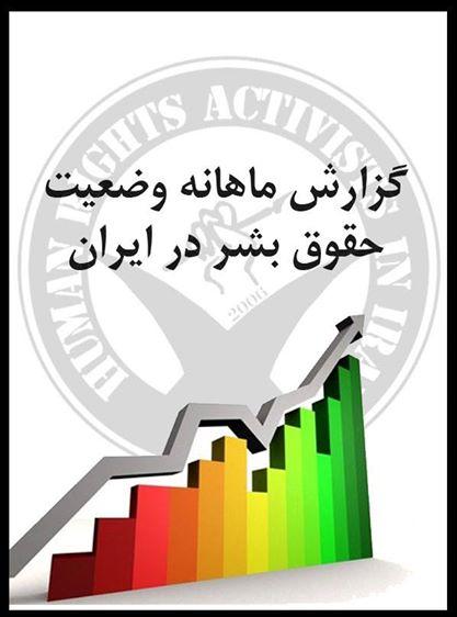 گزارش اجمالی و ماهانه وضعیت حقوق بشر در ایران