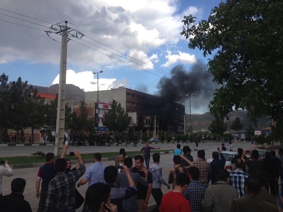 بازداشت حدود ١۵٠ تن طى اعتراضات مهاباد