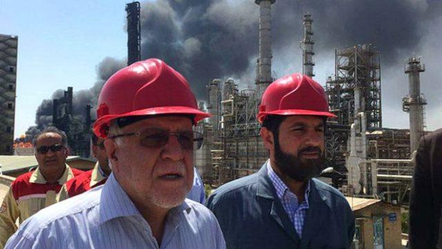 درماندگی رژیم در مهار آتشسوزی و خوشحالی عربستان، نوشته باران بهاری
