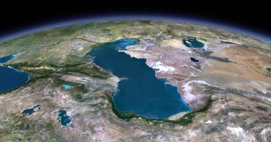 دریاچه مازندران (کاسپین) و ترکمانچای دوم با جمهوری اسلامی اشغالگر ایران