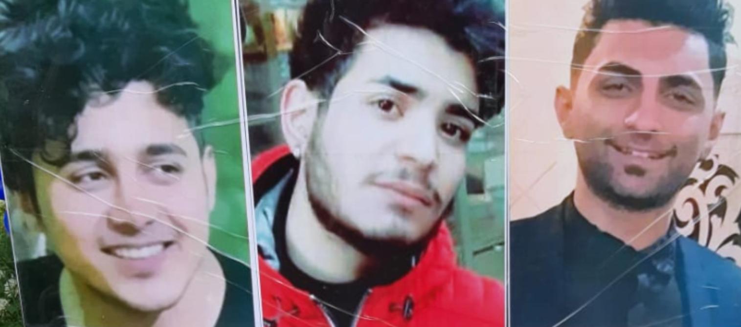 جنبش اعتراضی آبانماه 98 وسه زندانی محکوم شده به اعدام